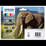 Epson C13T24384021 (24XL) Ink cartridge multi pack, 500pg + 5x740 pg, 1x10ml + 3x9ml + 2x10ml, Pack qty 6