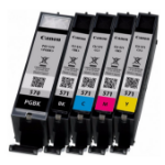 Canon 0372C004 (PGI-570 CLI 571) Ink cartridge multi pack, 15ml + 4x7ml, Pack qty 5