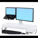 Ergotron 97-933-062 multimedia cart accessory White Holder