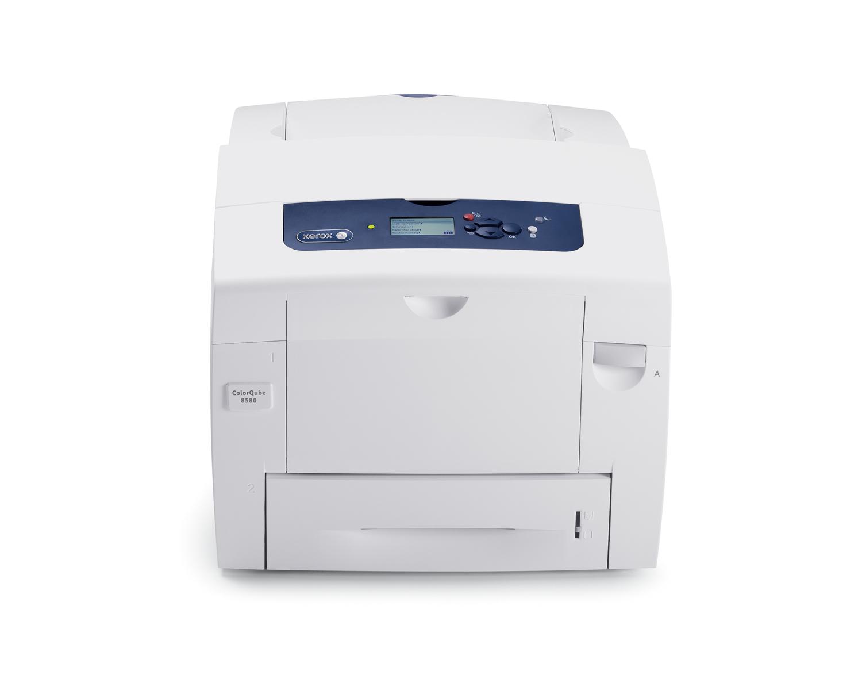 Xerox ColorQube 8580 Colour 2400 x 1200DPI A4 Blue,White inkjet printer