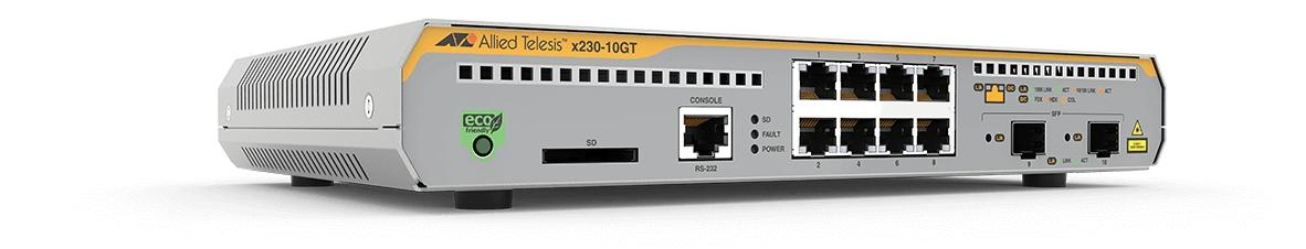 Allied Telesis AT-x230-10GT-50 Gestionado L3 Gigabit Ethernet (10/100/1000) Gris