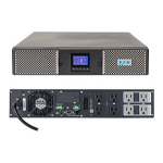 Eaton 9PX 1500RT Double-conversion (Online) 1500VA 8AC outlet(s) Rackmount/Tower Black,Silver uninterruptible power supply (UPS)
