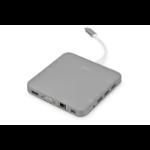 Digitus DA-70876 notebook dock/port replicator Wired USB 3.2 Gen 1 (3.1 Gen 1) Type-C Grey