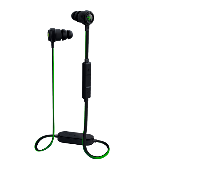 Razer Hammerhead BT In-ear Binaural Wireless Black,Green mobile headset