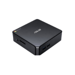ASUS Chromebox CHROMEBOX3-N031U PC/workstation Intel® Celeron® 3865U 4 GB 32 GB Flash mini PC Black Chrome OS