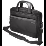 "Kensington Contour 2.0 notebook case 35.6 cm (14"") Briefcase Black"