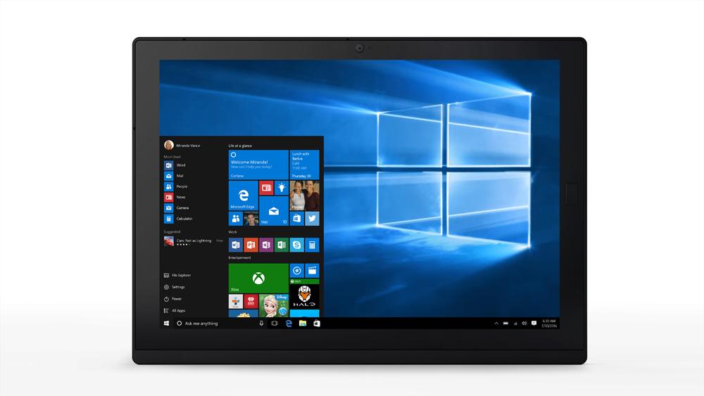 Lenovo ThinkPad X1 256GB Black tablet