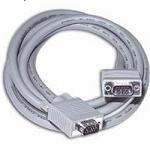 C2G 0.5m Monitor HD15 M/M cable VGA cable VGA (D-Sub) Grey