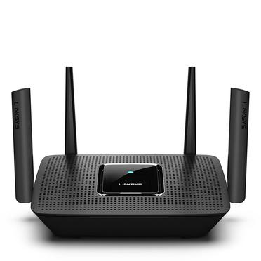 Linksys MR8300 wireless router Tri-band (2.4 GHz / 5 GHz / 5 GHz) Gigabit Ethernet Black