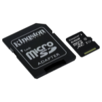 Kingston Technology microSDXC Class 10 UHS-I Card 64GB 64GB MicroSDXC UHS-I Class 10 memory card