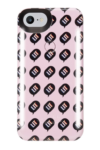 LUMEE DUO iPhone 8 Kimoji LIT Pink