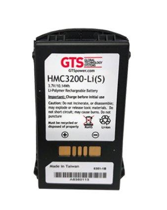 GTS HMC3200-LI(S) pieza de repuesto para ordenador de bolsillo tipo PDA Batería