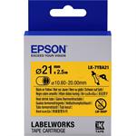 Epson C53S657904 (LK-7YBA21) Embossing tape, 21mm x 2,5m