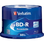 Verbatim 98397 25GB BD-R 50pcs read/write blu-ray disc (BD)
