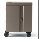 Bretford Cube Cart Portable device management cart Champagne