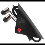Lenovo 4XD0K74703 In-ear Binaural Wired Black mobile headset