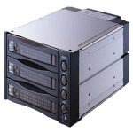 "MicroStorage SNT-2131 SATA 3.5"" Black storage drive enclosure"