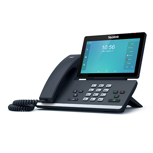 Yealink SIP-T56A IP phone Black Wired handset LCD Wi-Fi