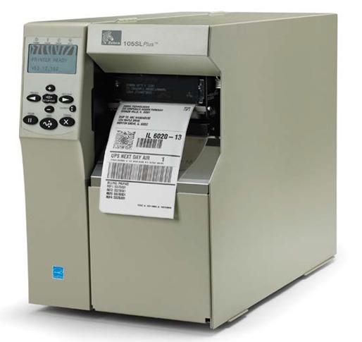Zebra 105SLPlus labelprinter Direct thermisch/Thermische overdracht 203 x 203 DPI