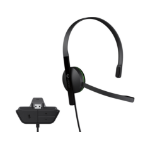 Microsoft Xbox One Chat Headset Monaural Head-band Black headset
