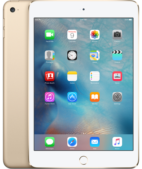 Apple iPad mini 4 16GB Gold tablet