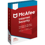 McAfee Internet Security 10 license(s) 1 year(s)