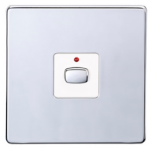 EnerGenie MIHO025 light switch Chrome, White