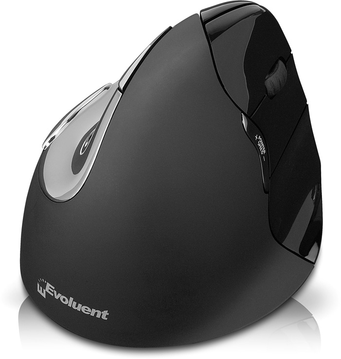 Evoluent VM4RM Bluetooth Optical Right-hand Black mice