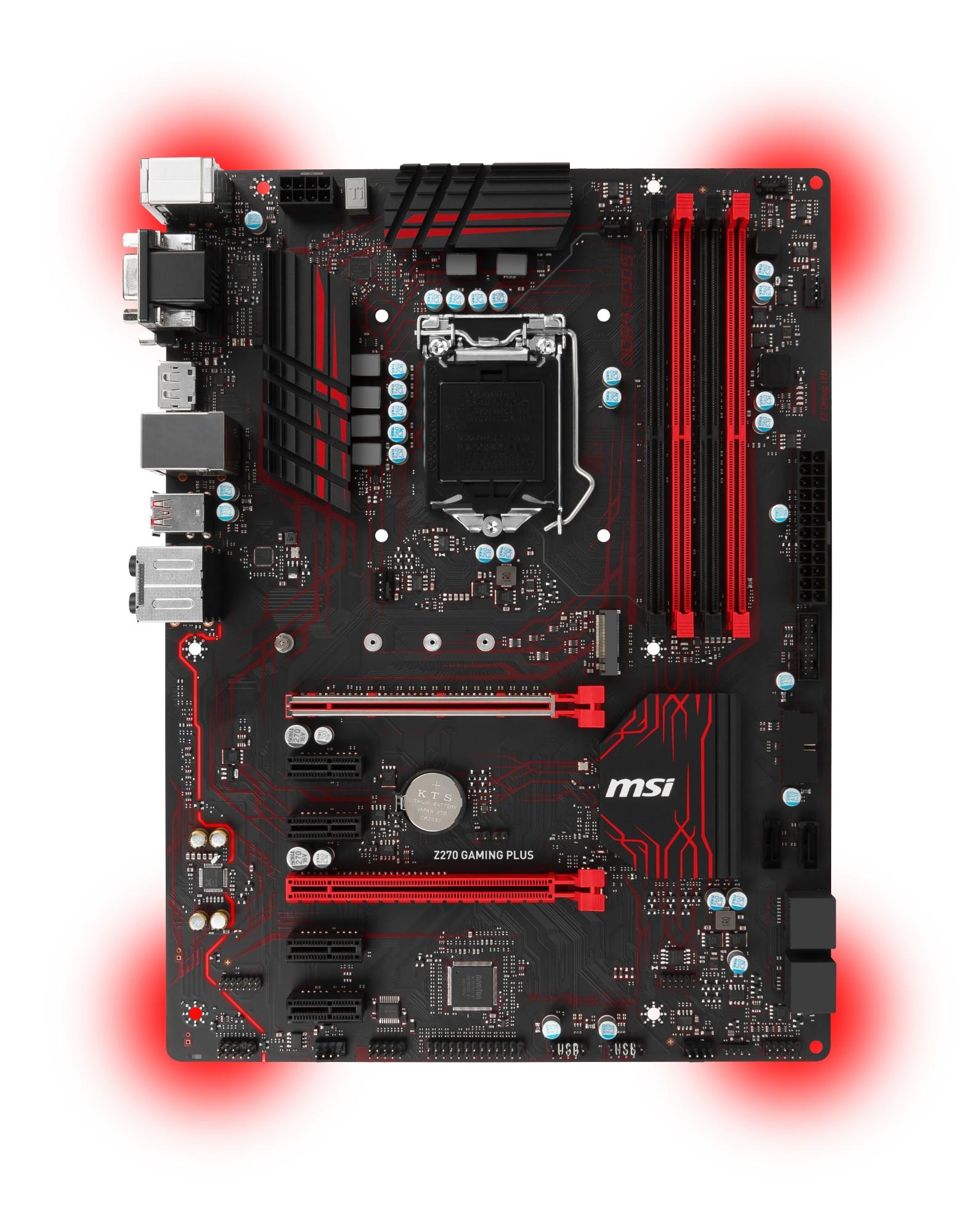 MSI Z270 GAMING PLUS Intel Z270 LGA1151 ATX motherboard