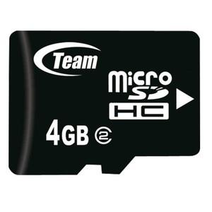 Team Group Micro SDHC 4GB 4GB MicroSDHC memory card