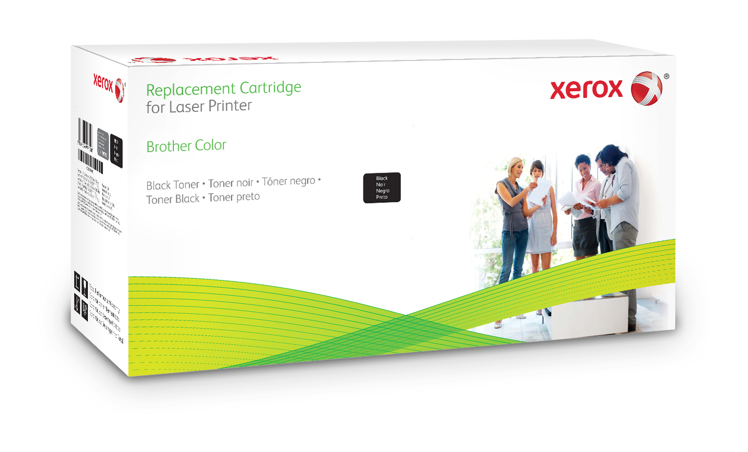 Xerox 006R03048 compatible Toner black, 6K pages (replaces Brother TN328BK)