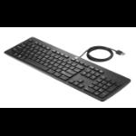 HP USB Business plat toetsenbord (bulk)