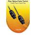 V7 Toslink Cable (m/m) gold plated connector black 1m