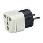 Black Box MC167A power plug adapter Black,White