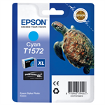 Epson C13T15724010 (T1572) Ink cartridge cyan, 26ml
