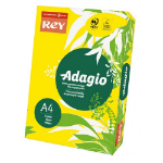 ADAGIO Rey Adagio A4 Paper 80gsm Deep Yellow RM500