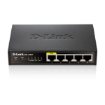 D-Link DES-1005P network switch Unmanaged Black Power over Ethernet (PoE)