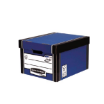 Bankers Box Fellowes Premium Classic Box Blue PK10