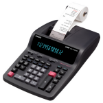 Casio DR-210TM Desktop Printing calculator Black calculator