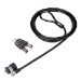 DELL 461-10220 cable antirrobo Negro, Plata 1,8 m