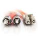 C2G 2m LC/ST LSZH Duplex 62.5/125 Multimode Fibre Patch Cable