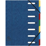 Exacompta 55072E folder A4 Blue, Multicolor