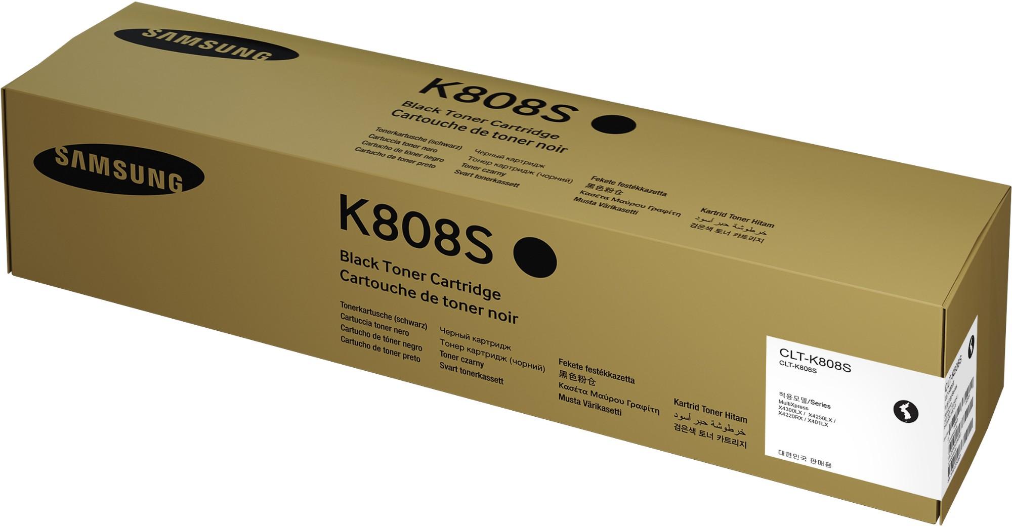 Samsung CLT-K808S Original Negro 1 pieza(s)