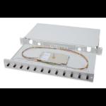 Digitus Fiber Optic Splice Box, Equipped, ST, OM3