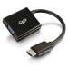 C2G 80500 video cable adapter 0.2 m HDMI VGA (D-Sub) Black