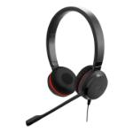Jabra Evolve 20SE UC Stereo Headset Head-band USB Type-A Black