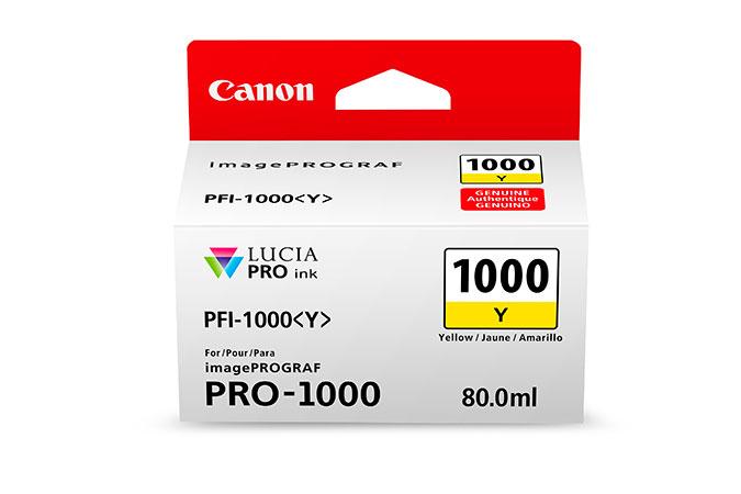 Canon PFI-1000 Y Original Amarillo