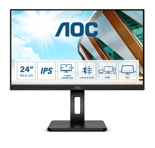 AOC P2 24P2C LED display 60.5 cm (23.8