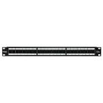 Cablenet 24 Port Cat5e FTP 1u 90Deg Shuttered Patch Panel