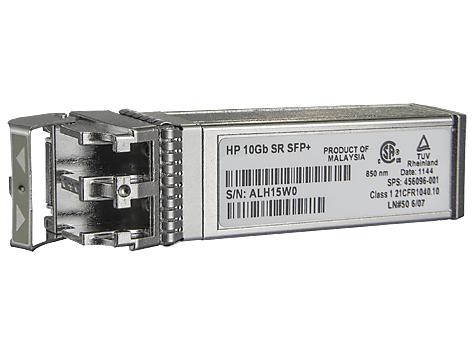 Hewlett Packard Enterprise BladeSystem c-Class 10Gb SFP+ SR Transceiver network transceiver module Fiber optic 10000 Mbit/s SFP+ 850 nm